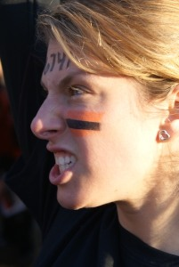 Tough Mudder game face
