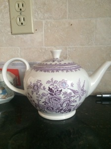 Have also developed a teapot obsession. This one was $100 (!). That's maybe a topic for another post.
