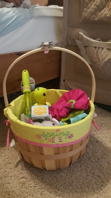 Easter basket for the littlest one